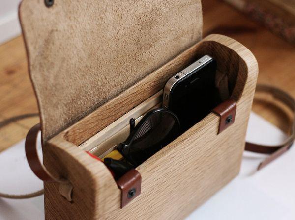 """""""Todo empezó con la talla de una pieza de madera de tilo, intentando vaciar su interior para usarla para llevar objetos. No me considero u..."""