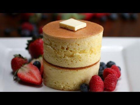 Fluffy Japanese Pancakes - YouTube