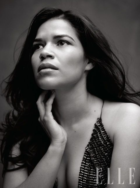 America Ferrera -- always been a fan of her she's intelligent, outspoken,classy, and lovely