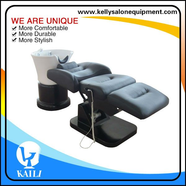 electrial salon furniture motorized shampoo chair