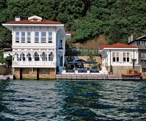 AD 2005 August - On the Bosporus in Istanbul by Mica Ertegun - Makes me want a boat