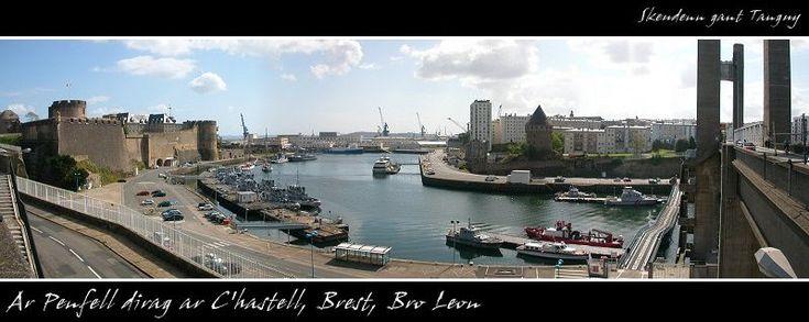 Penfeld - Brest, Bretagne