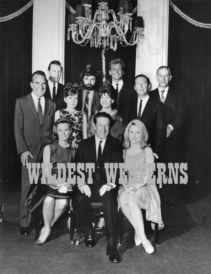 RICHARD BOONE SHOW Cast Photo WARREN STEVENS Guy Stockwell HARRY MORGAN