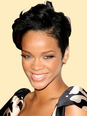 Super 1000 Ideas About Rihanna Short Haircut On Pinterest Black Bob Short Hairstyles For Black Women Fulllsitofus