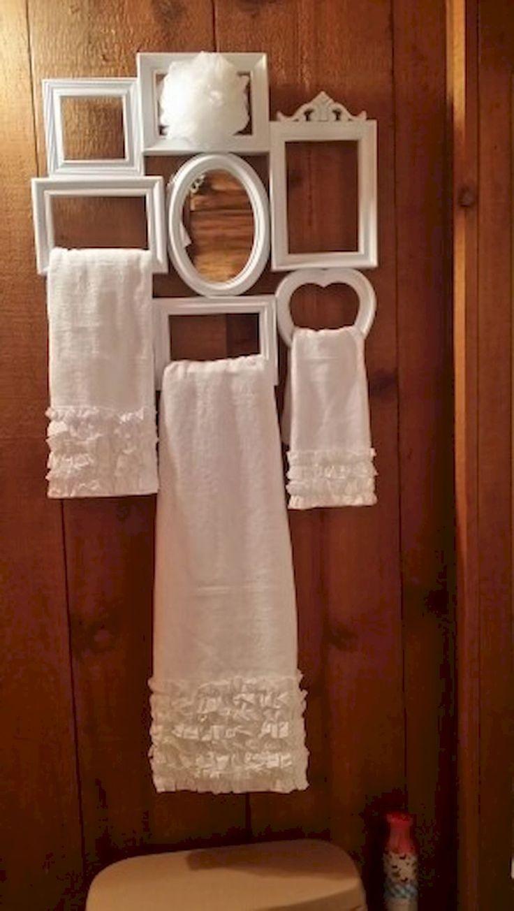 45 Awesome Shabby Chic Bathroom Decoration Ideas