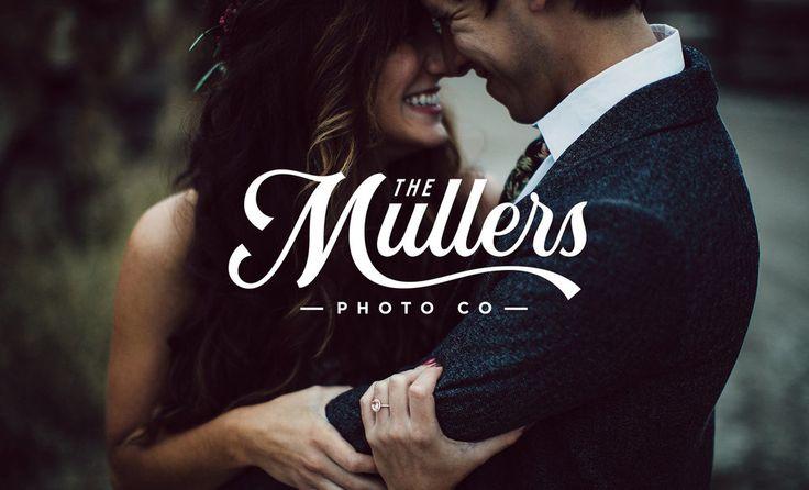 The Mullers Photo Co   Branding — Nicolas Fredrickson Omaha, NE Lettering