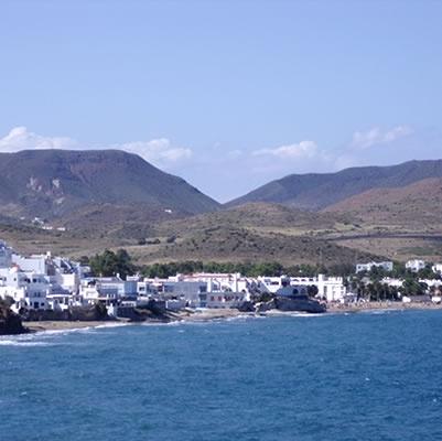 Spain, Andalucia, Almeria, Cabo de Gata, San Jose resort village