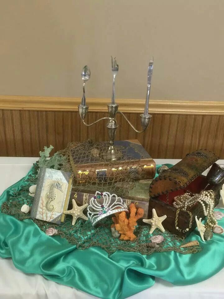 Little Mermaid center piece