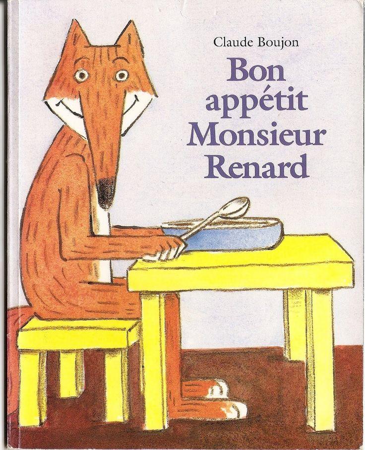 """Histoire: """"Bon appétit Monsieur Renard"""""""
