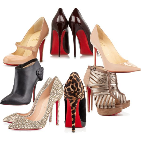 """Louboutin Dreams"" by gingernextdoor on Polyvore"