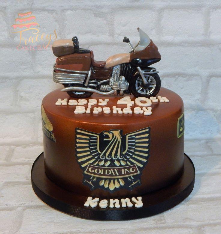 Honda GoldWing, motorbike cake