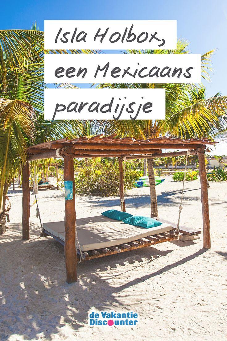Alsof je een ansichtkaart binnenloopt… Op Isla Holbox, zonder twijfel het meest relaxte eiland van Mexico, zijn de zandstranden witter dan wind. Tel daarbij de vele palmbomen en hangmatten om in te chillen bij op. Welkom in een Mexicaans paradijs dat je nooit meer wilt verlaten!