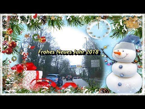 4K Full HD - Frohes Neues Jahr 2018 - Happy New Year  2018 aus Norddeuts...