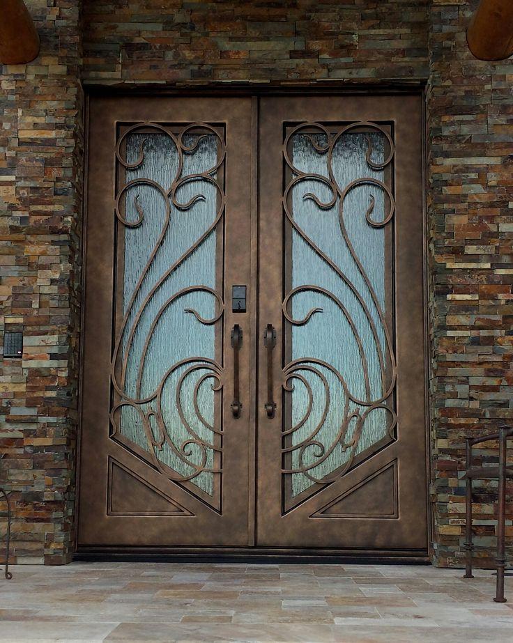 Metal Double Entry Doors