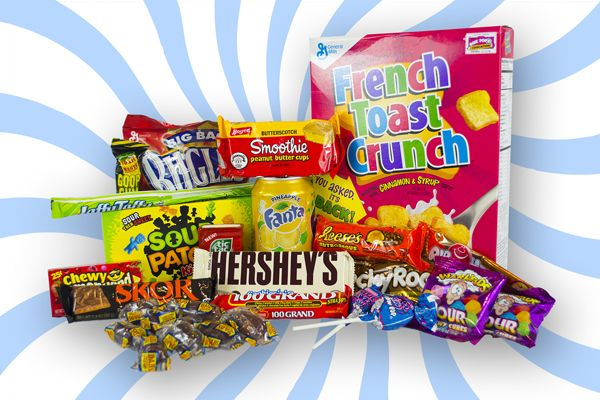 Check Out Taffy Mail Extra - our biggest box of American snacks, sweets and treats for only £24.99 a month!  And don't forget, if you use code TAFFYPINS, you'll get 15% off your first box!  http://taffymail.co.uk/subscribe-extra/