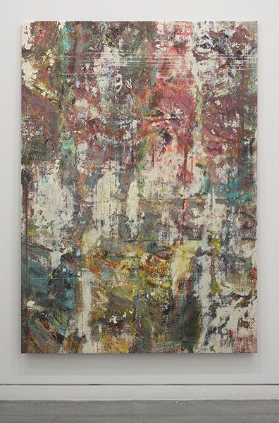 Liam Everett Untitled (Eulalia), 2014 Acrylic, enamel, alcohol, and salt   Art CollagesArtwork PaintingsContemporary ArtistsMixed ...