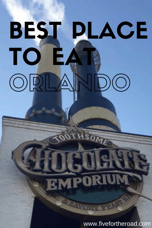 Toothsome Chocolate Emporium & Savory Feast Kitchen: A Must for Families Visiting Orlando - Five for the Road
