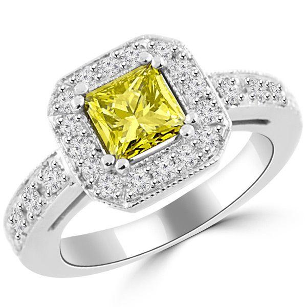 Jewelry Point - 1.77ct VS1 Princess-Cut Canary-Yellow Diamond Engagement Ring, $4,790.00 (https://www.jewelrypoint.com/1-77ct-vs1-princess-cut-canary-yellow-diamond-engagement-ring/)