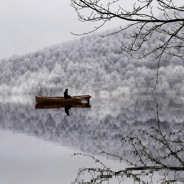 | winter is coming to town |  .  . Prespa lake | Florina ° Greece.