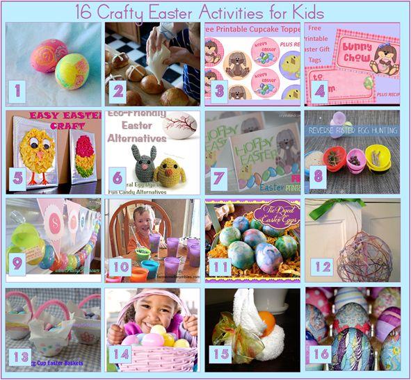 16 easter Crafts for Kids