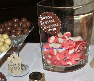 Mesa dulce Candy Bar