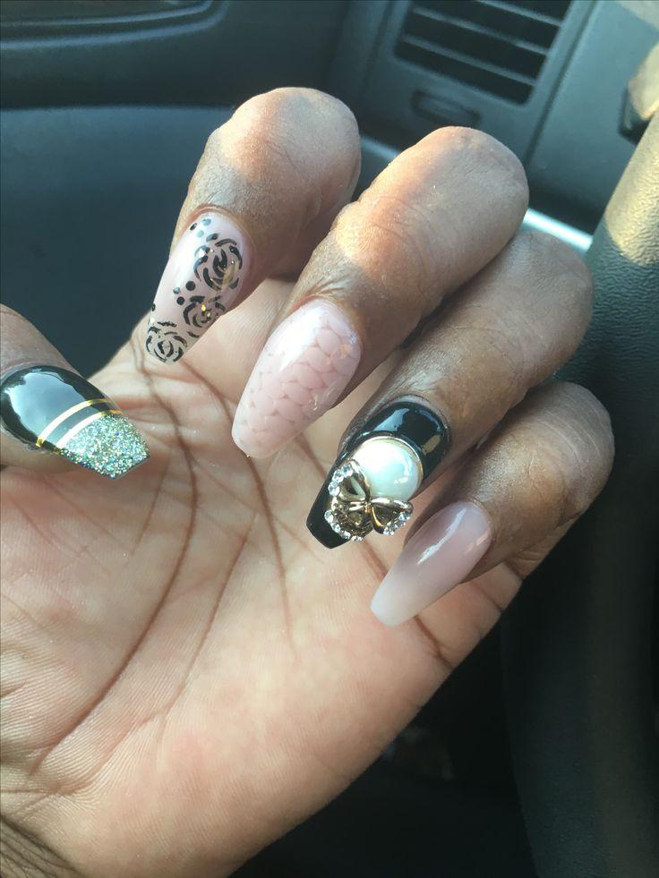453 mejores imágenes de Nail Art en Pinterest | Arte de uñas ...