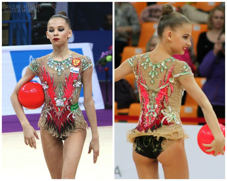 Anastasia Sergeeva (Russia), junior, ball 2017