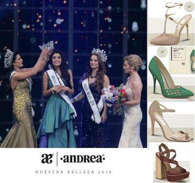 Andrea Nuestra Belleza 2016 Mexico. El actual catalogo promotor contiene una amplia variedad de calzado de mujer. Consulta los precios. #Andrea2016