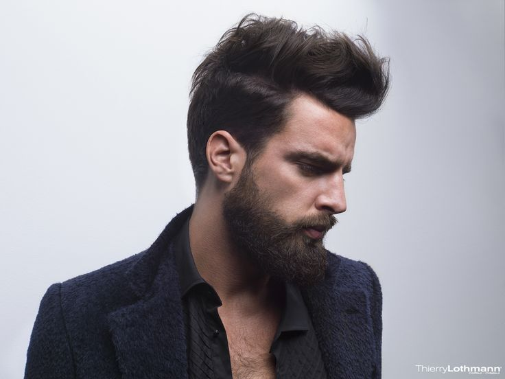 Thierry lothmann collection photos d r hipster barbe nos tendances hommes our men trends - Coiffure homme barbe ...