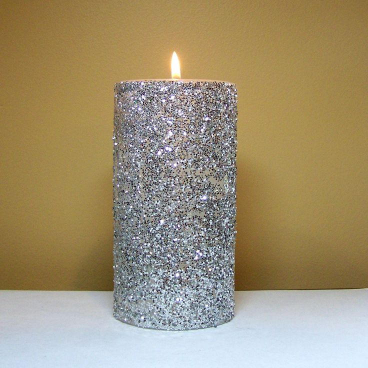 26 best 18th birthday images on pinterest for Shimmer pillar candle