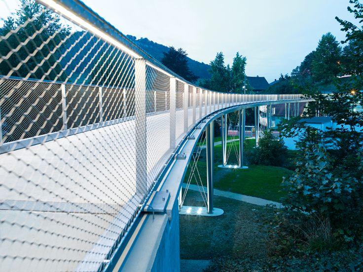 Textile-concrete bridge in Albstadt-Lautlingen