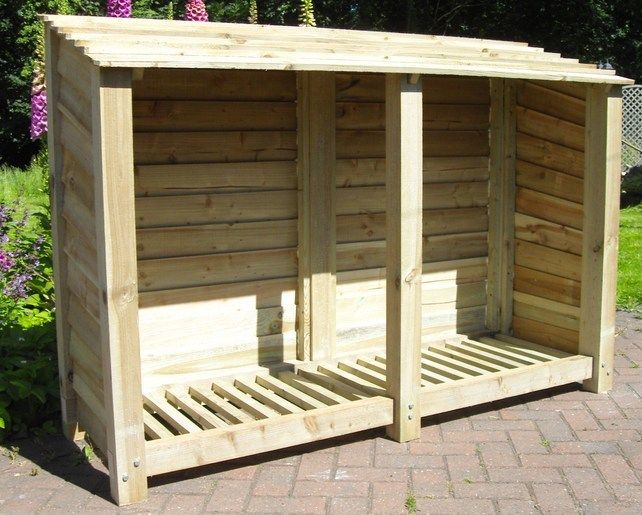 Easy build using recycle pallets, old posts, and walkway cover.