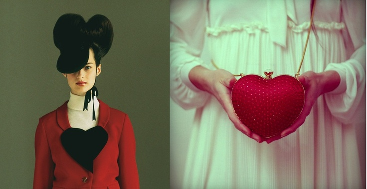 Vivienne Westwood- 'Red jacket with heart', Harris Tweed/ The CherryBlossomGirl