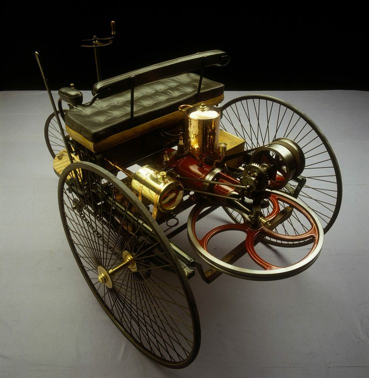 """1885 Benz Patent Motorwagen This is considered to be the first """"car""""."""