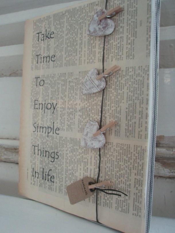 crea met kranten