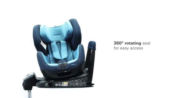 RECARO Child Seat – Zero.1 i-Size seggiolino per auto.