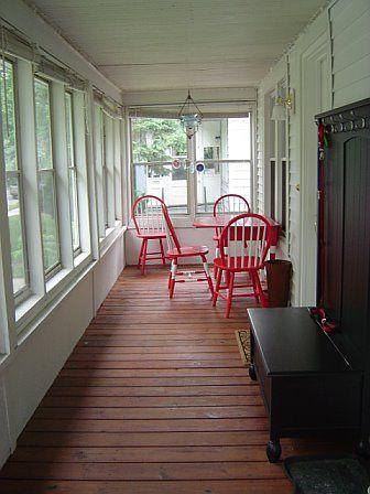 Enclosed Front Porch by heathercohen, via Flickr