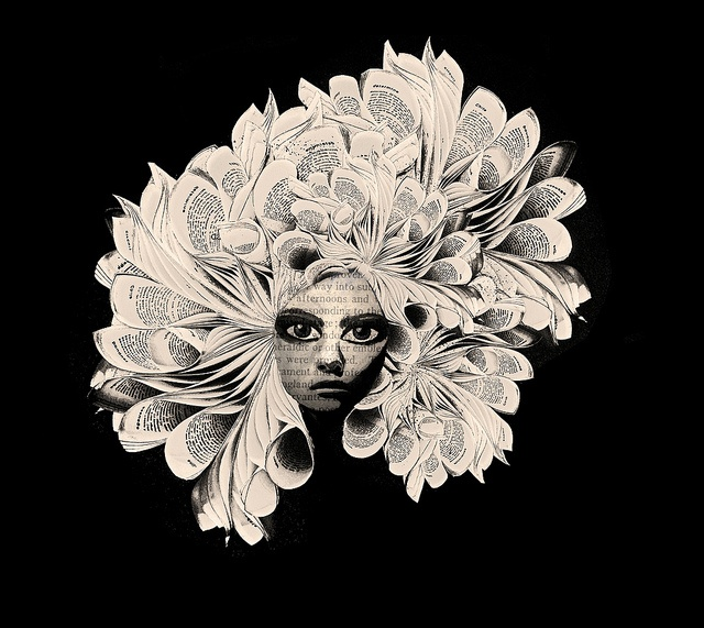 book head  3 by Bronia sawyer, via Flickr