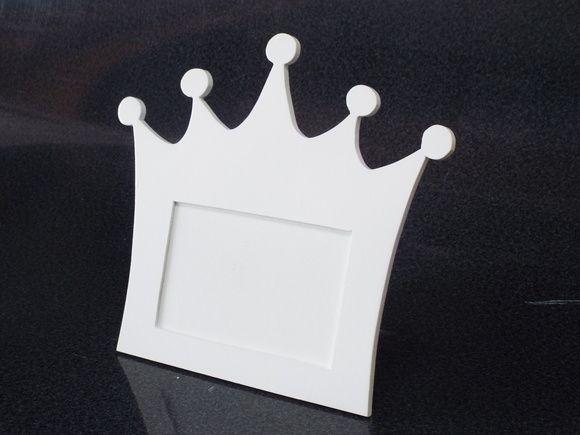 Porta retrato de mesa feito em mdf com pintura branca,para festa com tema pequeno príncipe ou princesa R$ 20,52