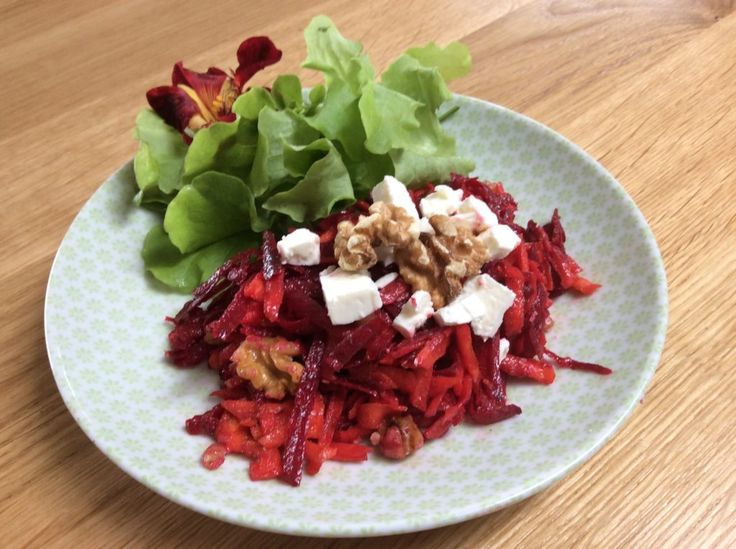 Beetroot & Carrot Salad with Walnuts » The Blood Sugar Diet by Michael Mosley