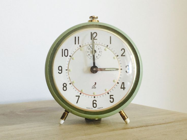 Jaz alarm clock - mint green