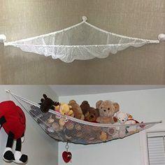 Japace® Nuevo juguete colgante del Hamaca & Toy Organizador Hamaca para Juguetes(neta) Corner para Peluches Muñecas juguete( Tamaño: 80*60*60cm)