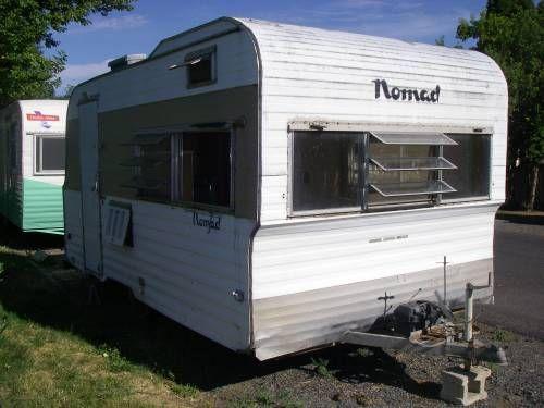 1966 nomad vintage travel trailer 350 vintage travel trailers pi. Black Bedroom Furniture Sets. Home Design Ideas