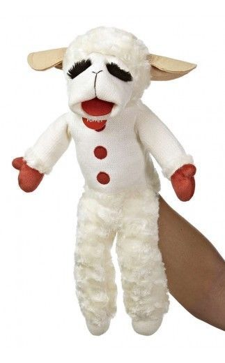 Adorable NEW—LAMB CHOP PUPPET ORIGINAL PLUSH 1957 Stuffed Toy  Hand Puppet RETRO #Aurora