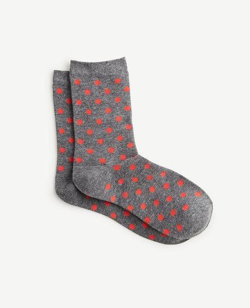 Ann Taylor - Ann Taylor Ann Taylor Vibrant Polka Dot Trouser Socks - AdoreWe.com