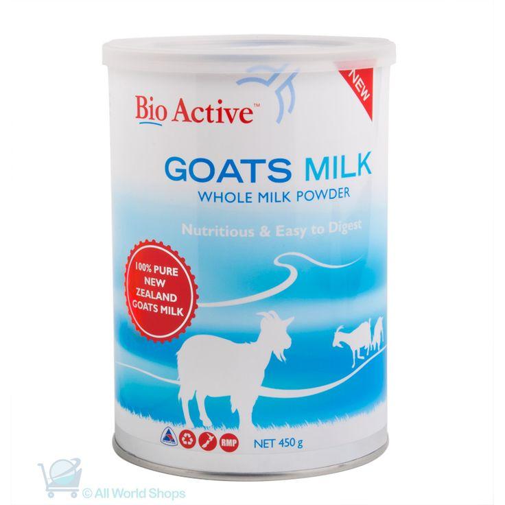 Goat's Milk Powder – Bio Active – 450g | Shop New Zealand NZ$41.90