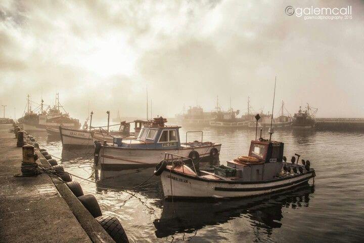Kalk bay in the mist