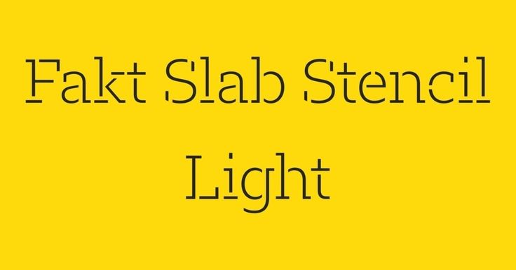 Fakt Slab Stencil, by Ourtype | https://ourtype.com/#/try/pro-fonts/fakt-slab-stencil/