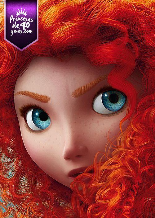 ¿Sabías que Brave es la primera película feminista de Disney? Esta película enseña que hay que afrontar grandes peligros antes de aprender a tener valentía. #Disney #princes #brave #PrincesasDe40