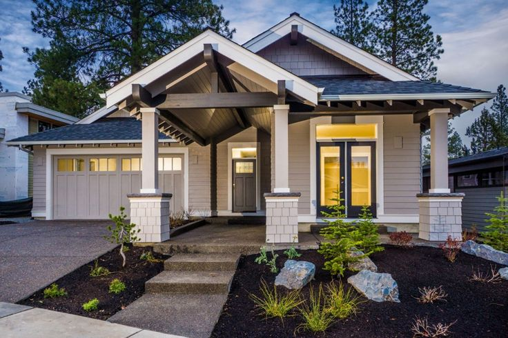 Bend oregon craftsman home plans house design plans for House plans oregon